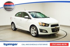 Used 2014 Chevrolet Sonic LTZ Sedan Hampton, Virginia