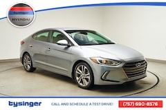 Used 2017 Hyundai Elantra Limited Sedan Hampton, Virginia