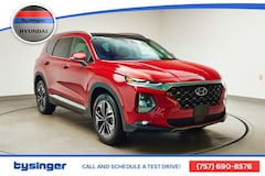 New 2019 Hyundai Santa Fe Limited 2.0T SUV Hampton, Virginia