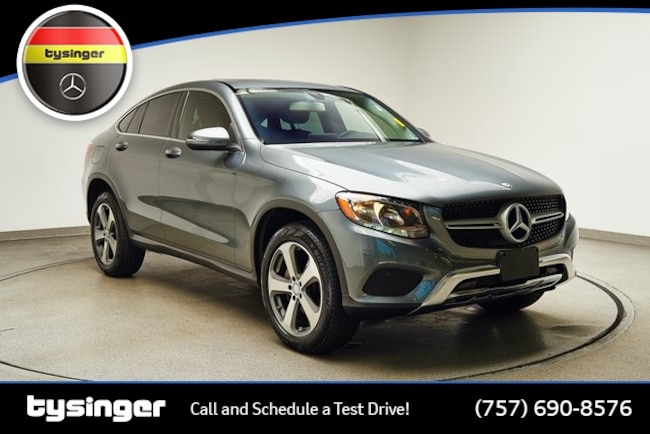 2017 Mercedes-Benz GLC 300 GLC 300 Coupe 4matic® SUV