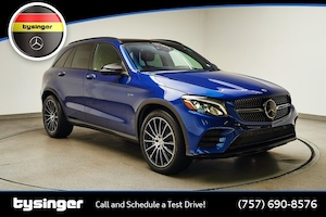 2019 Mercedes-Benz AMG GLC 43 4MATIC SUV MT99387