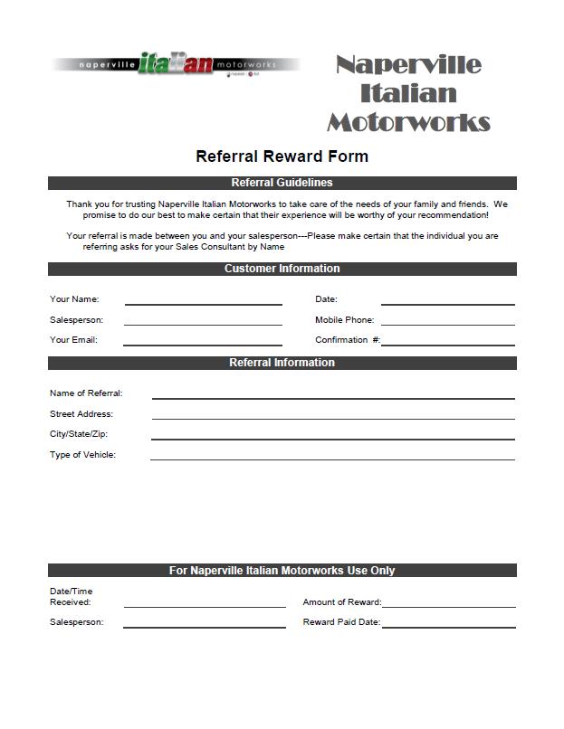 Dating referral program