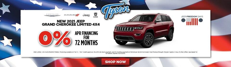 2021 Jeep Grand Cherokee Limited 4x4