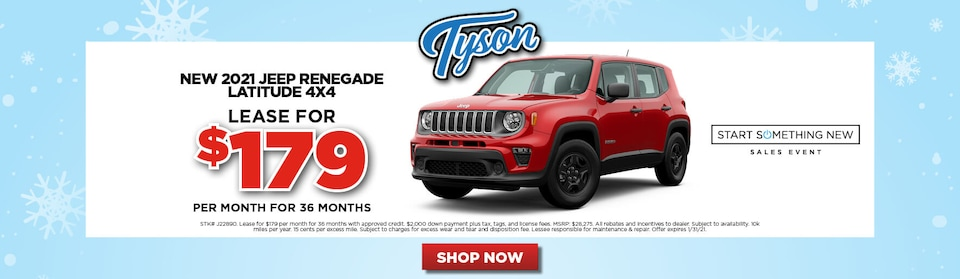 Special - 2021 Jeep Renegade