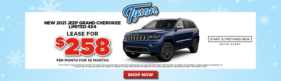 Special - 2021 Jeep Grand Cherokee