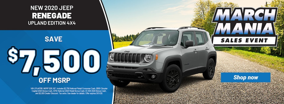 2020 Jeep Renegade Upland Edition 4x4