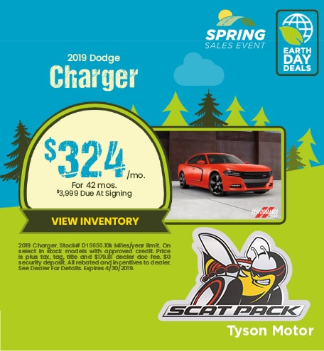 19 Charger April
