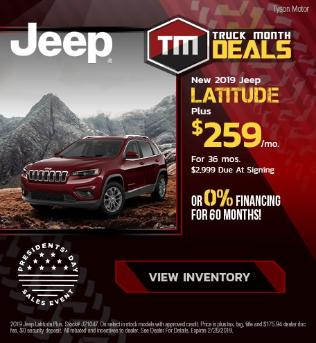 2019 Jeep Latitude Plus