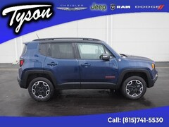 Certified 2017 Jeep Renegade Trailhawk 4x4 SUV for sale in Shorewood, IL
