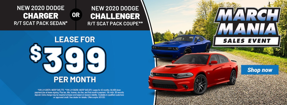 2020 Dodge Charger OR Challenger
