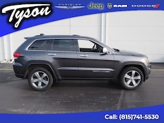 Used 2014 Jeep Grand Cherokee Limited 4x4 SUV for sale in Shorewood, IL