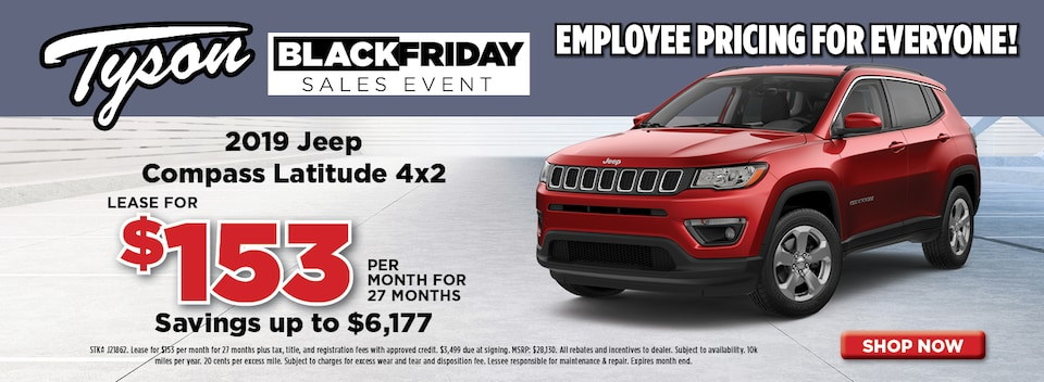 2019 Jeep Compass Lease Offer
