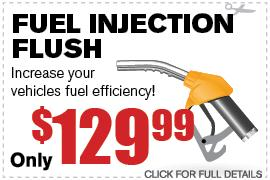 Fuel Inection Flush