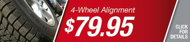 4-Wheel alignment Special, Grapevine
