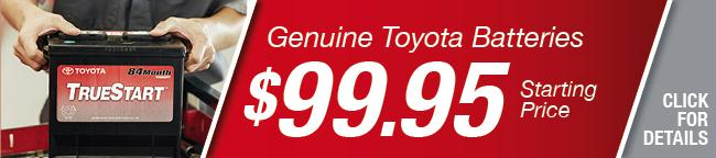 Genuine Toyota Batteries Coupon, Grapevine