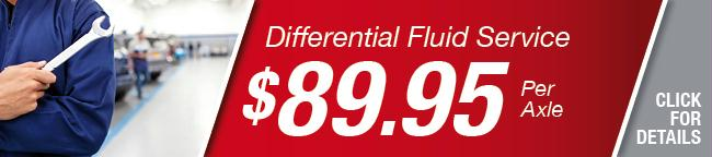 Differential Fluid Service Coupon, Grapevine