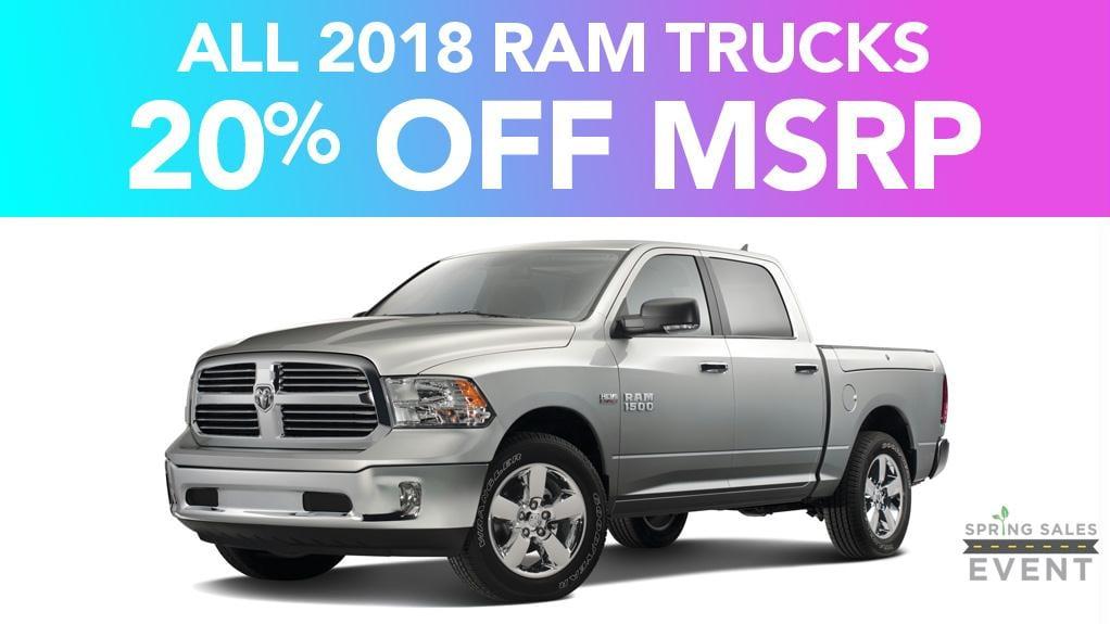 New RAM Truck Dealer in Anderson | RAM 1500, 2500, 3500, & ProMaster ...