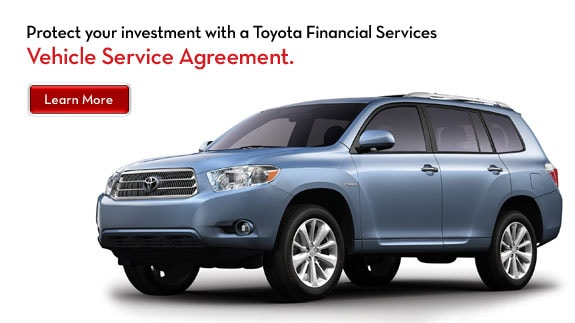 Toyota Factory Extended Warranty Plans   All Available With ZERO Deductible.