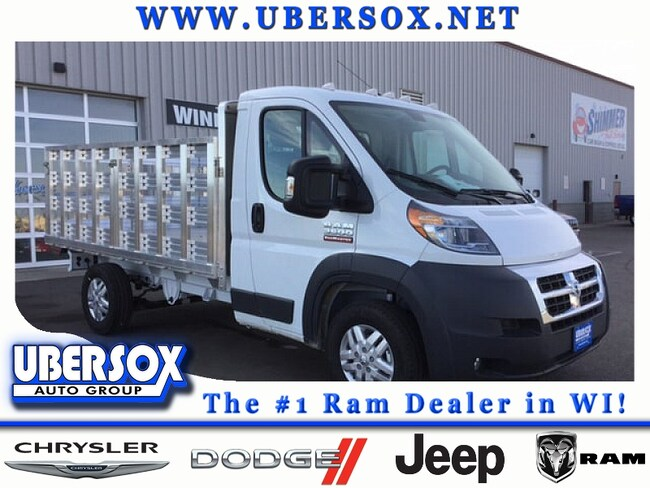 2017 Ram ProMaster 3500 Stake Body Base Cab and Chassis