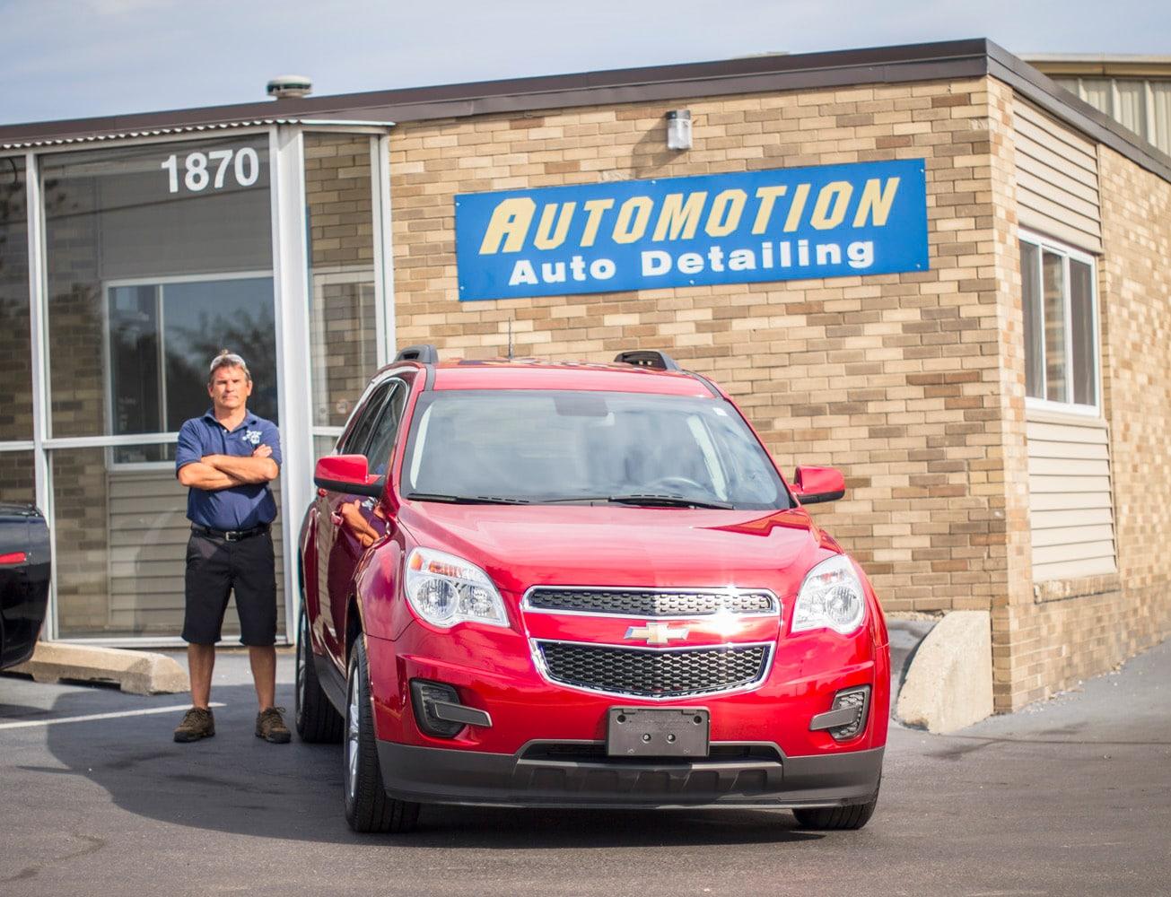 Car Wax Near Me >> Automotion Auto Detail Washington Illinois Uftring Auto Group