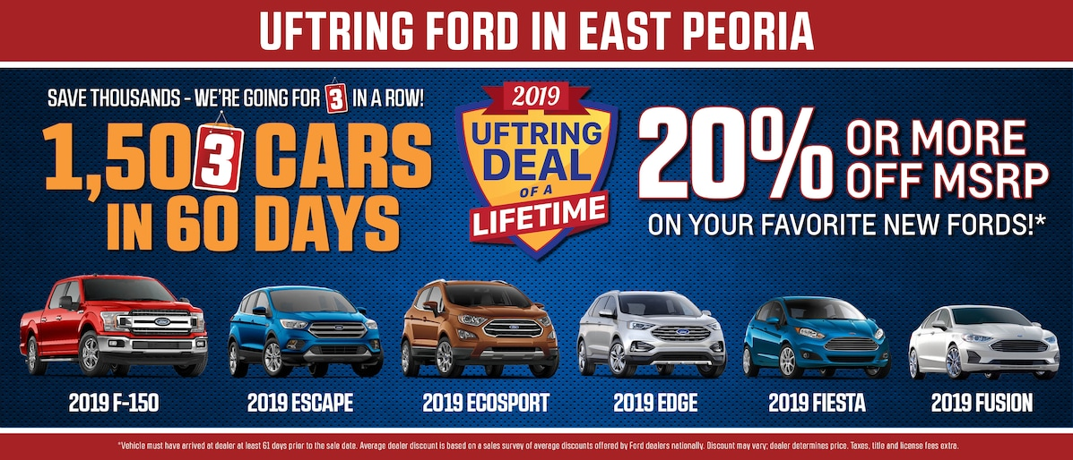Ford Dealership Peoria Il >> New Ford & Subaru and Used Car Dealer in East Peoria ...