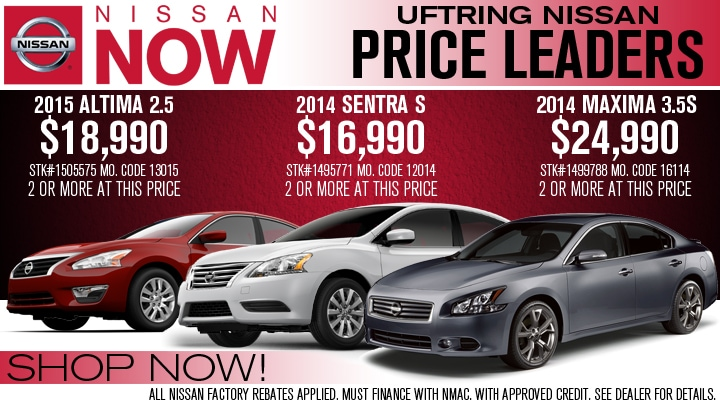 New & Used Nissan Car Dealer in Peoria, IL | Uftring ...