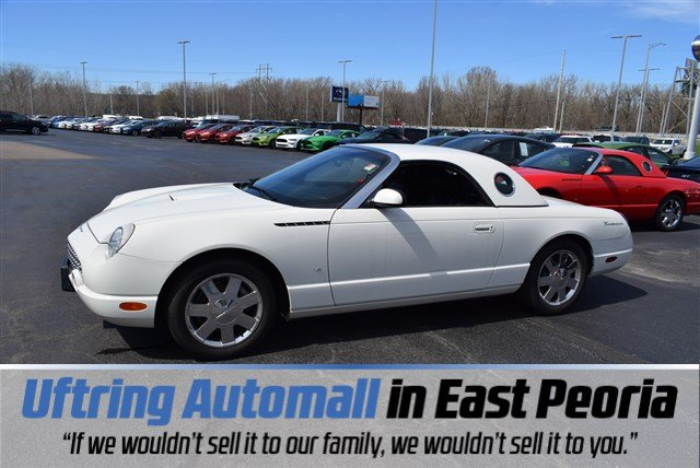Featured 2003 Ford Thunderbird Convertible for sale in East Peoria, IL