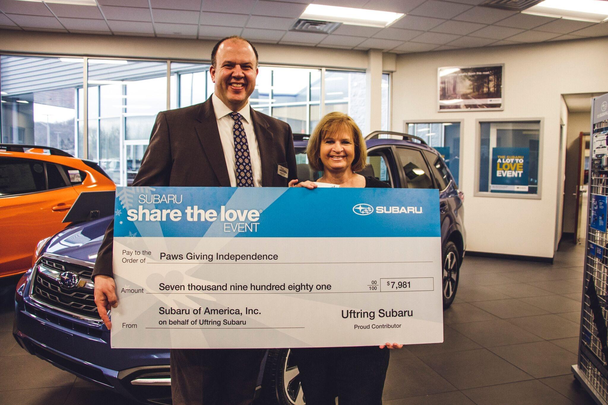 Uftring Subaru Raised For Local Charity In Uftring Subaru - Uftring ford car show