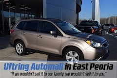 Used 2015 Subaru Forester 2.5i Limited (CVT) SUV for sale in East Peoria, IL