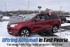 Certified Pre-Owned 2018 Subaru Forester 2.5i Premium SUV JF2SJAGC2JH589309 for Sale in East Peoria IL