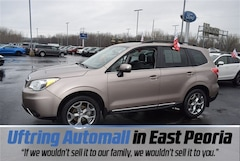 Certified Pre-Owned 2016 Subaru Forester 2.5i Touring SUV JF2SJAXC4GH511509 for Sale in East Peoria IL
