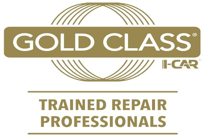 gold collision certified icar certifies standard class