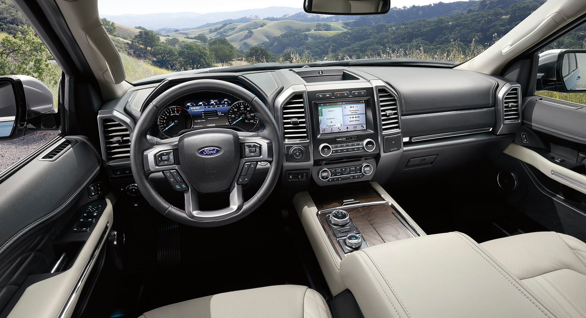 New Ford Expedition Interior