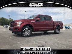 used 2018 Ford F-150 LARIAT LARIAT 4WD SuperCrew 5.5 Box for sale in Mountain Home, AR