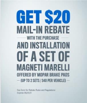 GET $20 Mail- In Rebate
