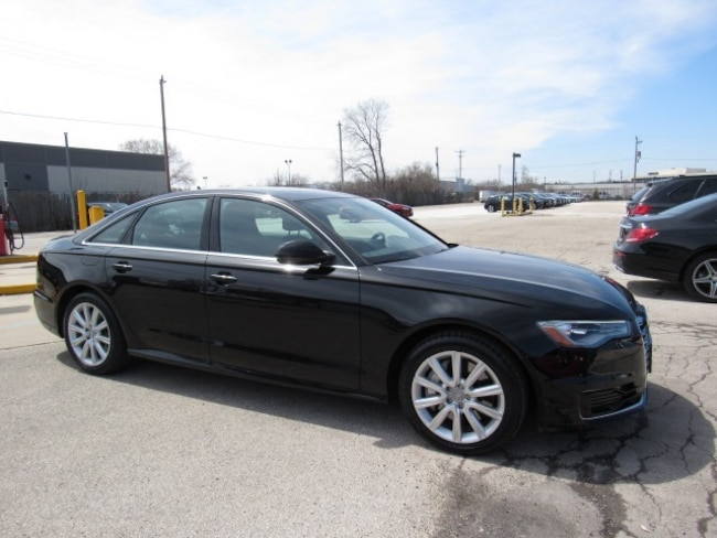 Pre-Owned luxury vehicles 2016 Audi A6 2.0T Premium Plus Sedan for sale near you in Milwaukee, WI