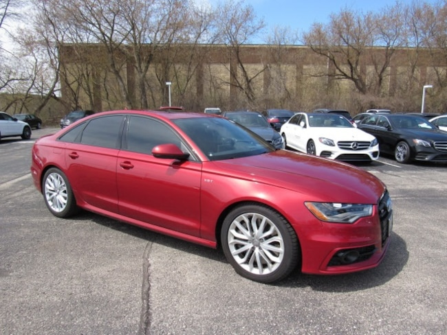 Pre-Owned luxury vehicles 2014 Audi S6 4.0T Prestige Sedan for sale near you in Milwaukee, WI