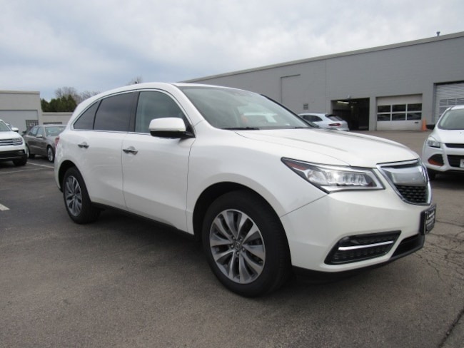 Pre-Owned luxury vehicles 2014 Acura MDX 3.5L Technology Pkg w/Entertainment Pkg SUV for sale near you in Milwaukee, WI