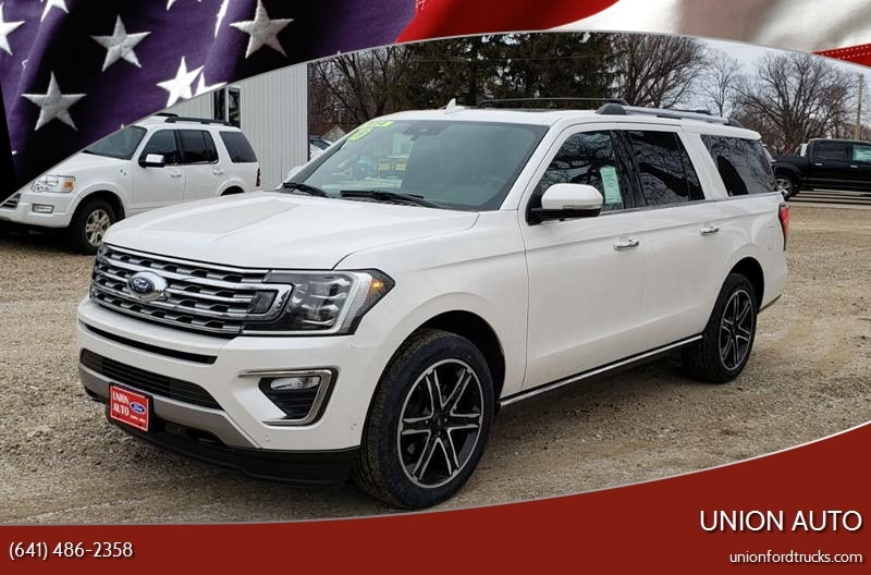 2019 Ford Expedition MAX Limited 4x4 4dr SUV SUV