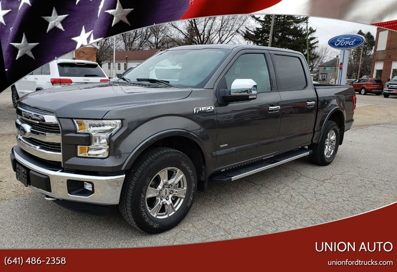 2016 Ford F-150 Lariat 4x4 4dr Supercrew 5.5 ft. SB Pickup Truck