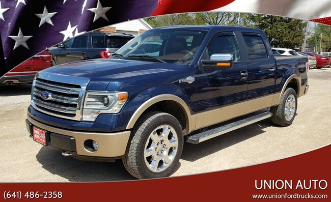2013 Ford F-150 King Ranch 4x4 4dr Supercrew Styleside 5.5 ft. SB Pickup Truck