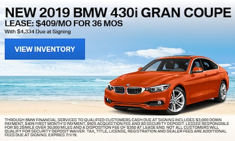 New 2019 BMW 430i Gran Coupe