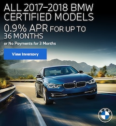 All 2017–2018 BMW Certified Models