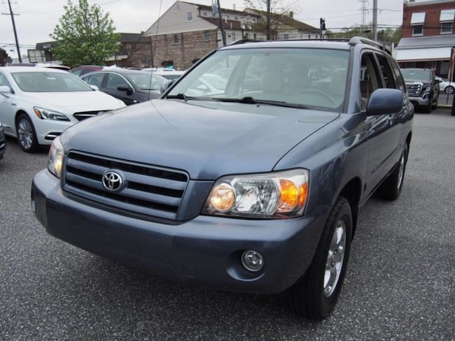 3rd Row Suv For Sale >> Pre Owned 2006 Toyota Highlander For Sale In Wilmington De Stock