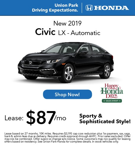 New 2019 Civic LX