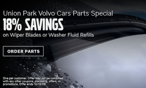 18% Savings On Wiper Blades and Fluid Replacement