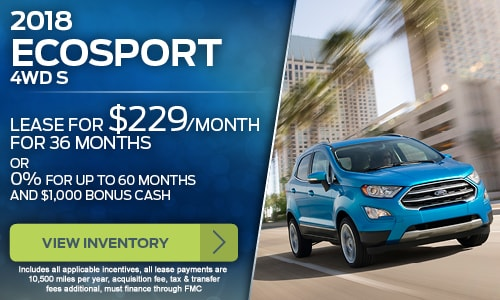 Ford Of Uniontown >> New Vehicle Specials Ford Of Uniontown