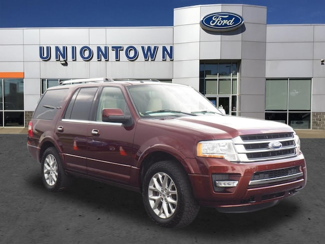 Used 2015 Ford Expedition Certified 4x4 Limited for Sale in Uniontown, PA