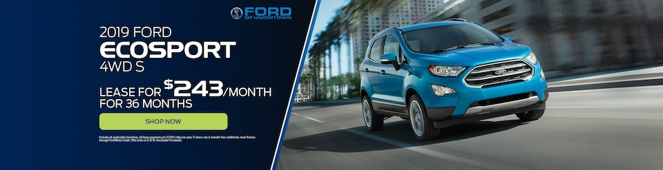 2019 Ford EcoSport 4WD S