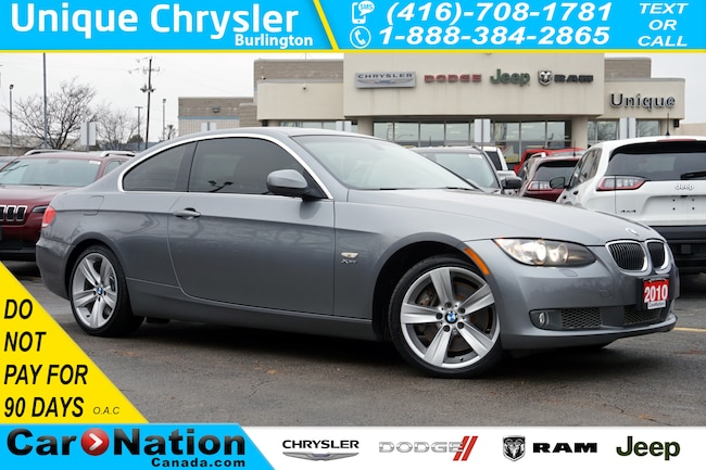 2010 BMW 335i xDrive| NAV| EXECUTIVE PKG| HTD STEERING WHEEL Coupe